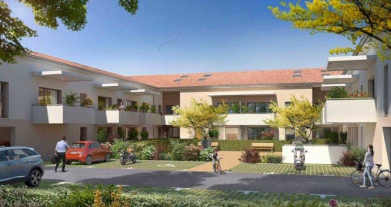 Achat / Vente programme immobilier neuf Fonbeauzard proche école (31140) - Réf. 3340
