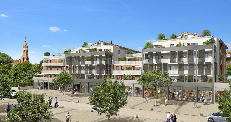 Achat / Vente programme immobilier neuf L'Union proche centre-ville (31240) - Réf. 3283