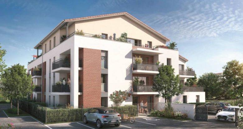 Achat / Vente programme immobilier neuf Labarthe-sur-Lèze à 15 min de Basso Combo (31860) - Réf. 5954