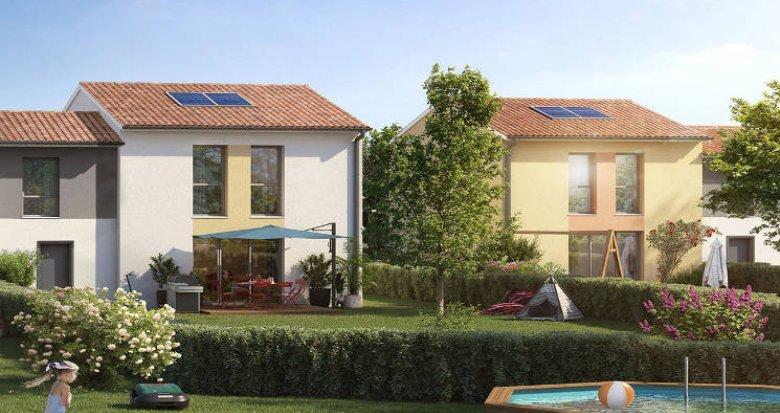 Achat / Vente programme immobilier neuf Launaguet à 5 min de Toulouse (31140) - Réf. 5650