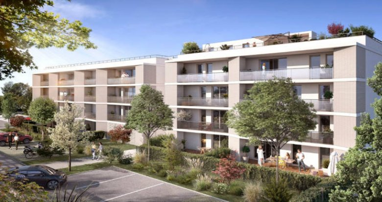 Achat / Vente programme immobilier neuf L'Union à 10 min de Balma-Gramont (31240) - Réf. 5705