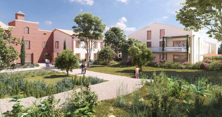 Achat / Vente programme immobilier neuf Montrabé à 3 minutes de la gare (31850) - Réf. 5607