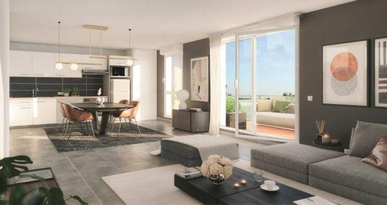 Achat / Vente programme immobilier neuf Pechbonnieu à moins de 5 min du centre (31140) - Réf. 5790