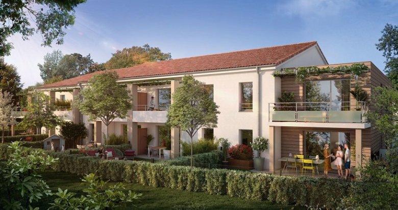 Achat / Vente programme immobilier neuf Pibrac Ensaboyo (31820) - Réf. 5602