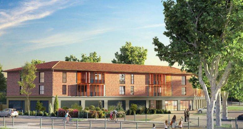 Achat / Vente programme immobilier neuf Pinsaguel en plein centre (31120) - Réf. 4766