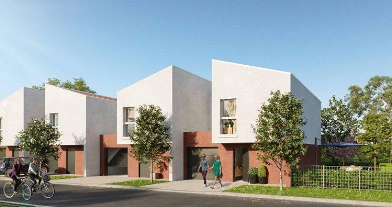 Achat / Vente programme immobilier neuf Roques proche centre-bourg (31120) - Réf. 5819