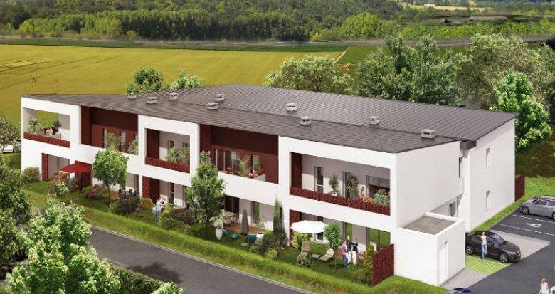 Achat / Vente programme immobilier neuf Roques proche Garonne (31120) - Réf. 4566