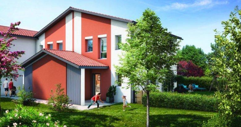 Achat / Vente programme immobilier neuf Saint-Alban centre proche bus 60 et 113 (31140) - Réf. 6286