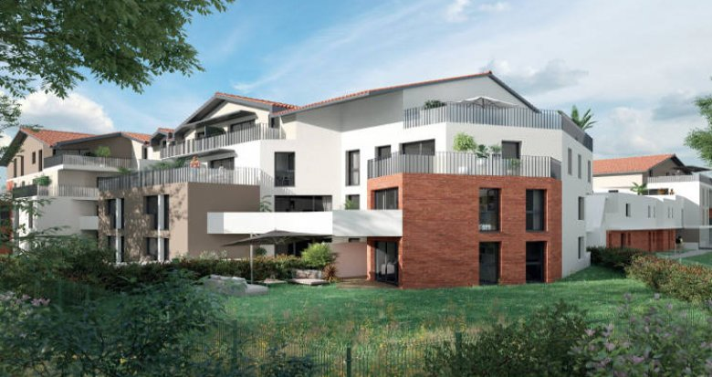 Achat / Vente programme immobilier neuf Saint-Orens-de-Gameville centre (31650) - Réf. 5982