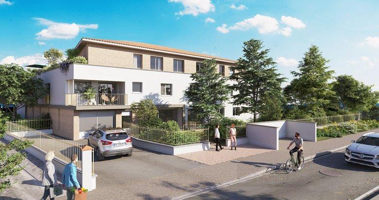 Achat / Vente programme immobilier neuf Saint-Orens-de-Gameville proche bus (31650) - Réf. 6116