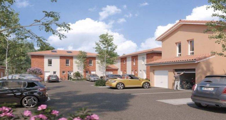 Achat / Vente programme immobilier neuf Saint-Orens-de-Gameville sur les coteaux sud (31650) - Réf. 4153