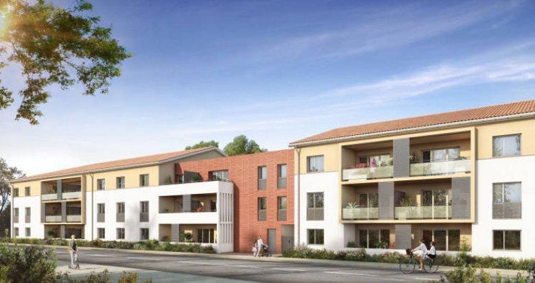 Achat / Vente programme immobilier neuf Seysses en plein cœur du centre-ville (31600) - Réf. 5368