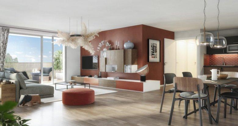 Achat / Vente programme immobilier neuf Toulouse à 300 m du métro Barrière de Paris (31000) - Réf. 5454