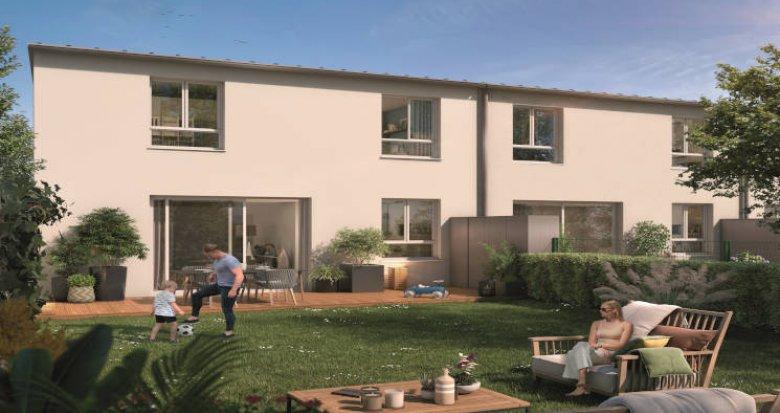 Achat / Vente programme immobilier neuf Toulouse à 300 m du métro Trois Cocus (31000) - Réf. 5961