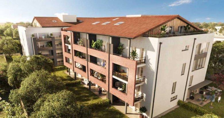 Achat / Vente programme immobilier neuf Toulouse à 800 mètres du métro (31000) - Réf. 4816