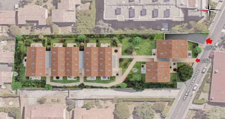 Achat / Vente programme immobilier neuf Toulouse à 800 mètres du métro (31000) - Réf. 4637