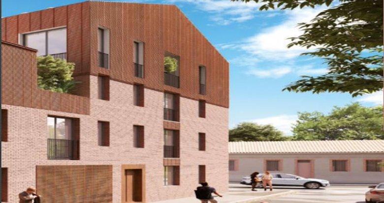 Achat / Vente programme immobilier neuf Toulouse à deux pas du métro et des commerces (31000) - Réf. 4779