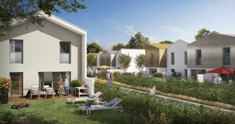 Achat / Vente programme immobilier neuf Toulouse au coeur de Saint-Simon (31000) - Réf. 5353
