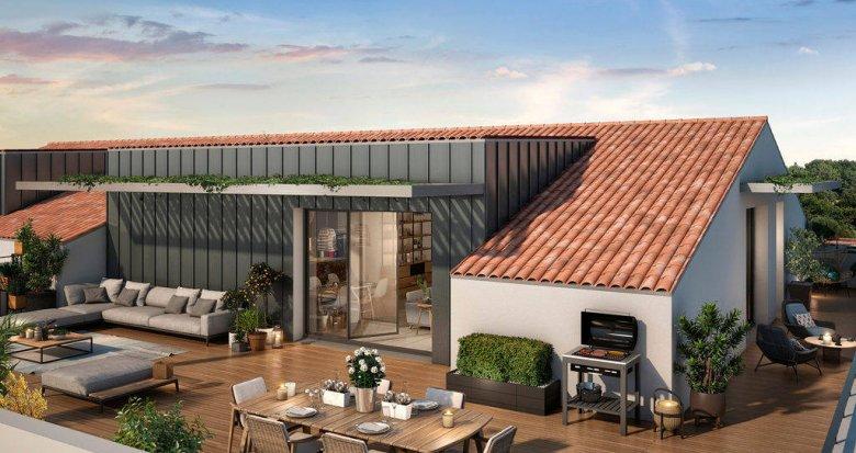 Achat / Vente programme immobilier neuf Toulouse au cœur du quartier Borderouge (31000) - Réf. 6272