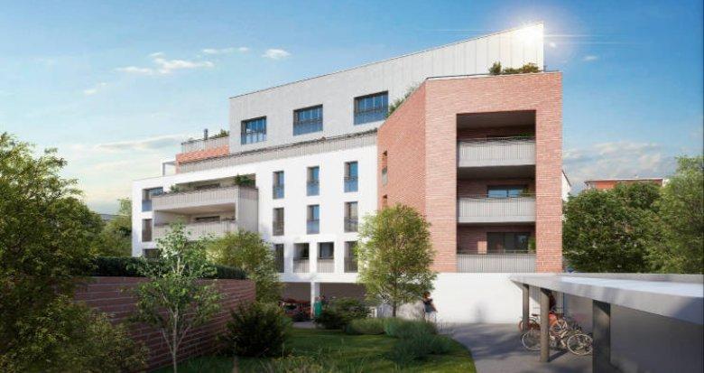 Achat / Vente programme immobilier neuf Toulouse au coeur du quartier Guilheméry (31000) - Réf. 6159