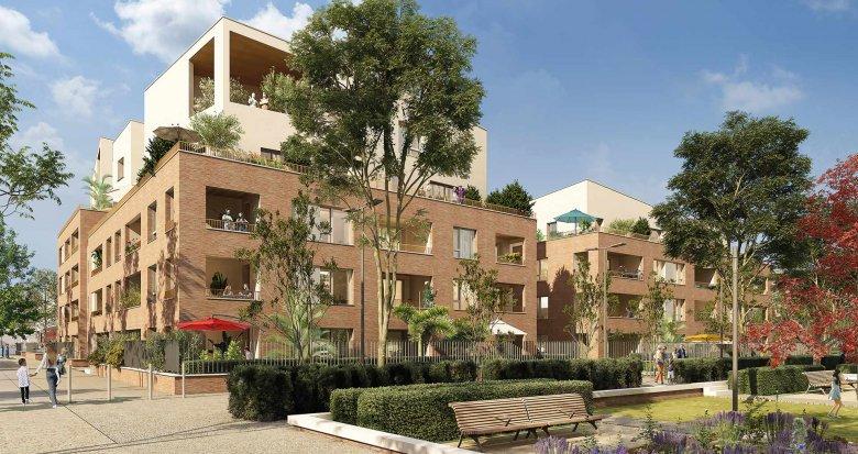 Achat / Vente programme immobilier neuf Toulouse au cœur du quartier Guillaumet (31000) - Réf. 5963