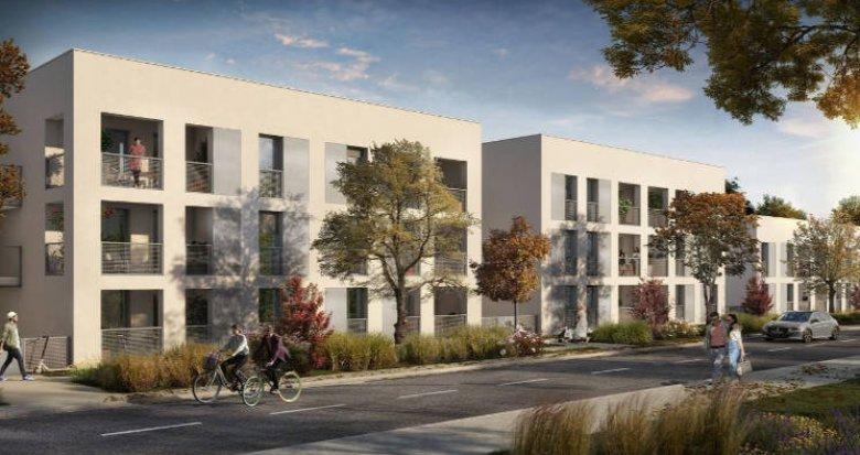 Achat / Vente programme immobilier neuf Toulouse au coeur du quartier Saint-Simon (31000) - Réf. 5338