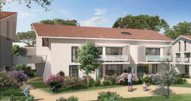 Achat / Vente programme immobilier neuf Toulouse cœur du quartier de Lardenne (31000) - Réf. 4581