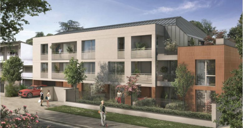 Achat / Vente programme immobilier neuf Toulouse cœur quartier de Croix Daurade (31000) - Réf. 5502