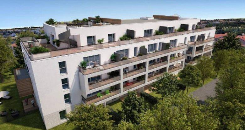 Achat / Vente programme immobilier neuf Toulouse entre 2 stations de métro (31000) - Réf. 4665