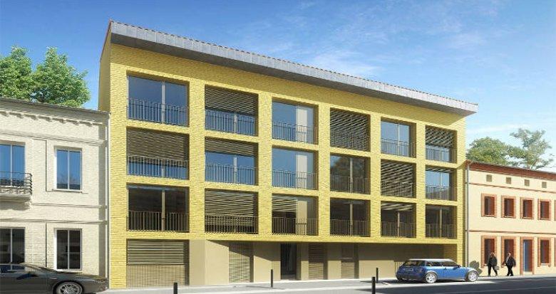 Achat / Vente programme immobilier neuf Toulouse entre le Jardin des plantes et le canal (31000) - Réf. 5776
