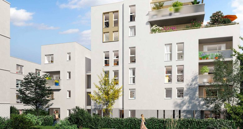Achat / Vente programme immobilier neuf Toulouse face au Parc de la Marcaissonne (31000) - Réf. 6233