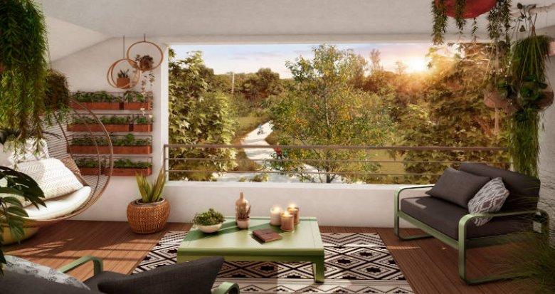 Achat / Vente programme immobilier neuf Toulouse face au parc des Argoulets (31000) - Réf. 5773