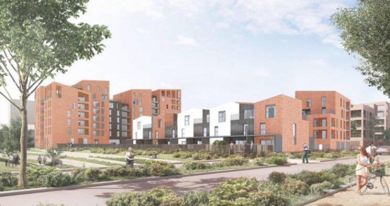 Achat / Vente programme immobilier neuf Toulouse face aux halles de la Cartoucherie (31000) - Réf. 3818