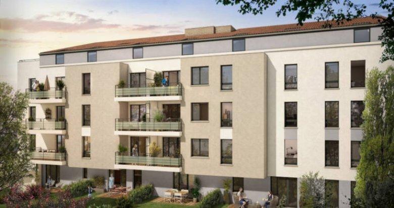 Achat / Vente programme immobilier neuf Toulouse - Minimes Claude Nougaro (31000) - Réf. 3356