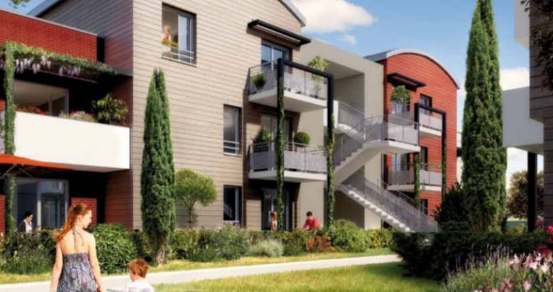Achat / Vente programme immobilier neuf Toulouse nord à 15 min du Capitole (31000) - Réf. 5360