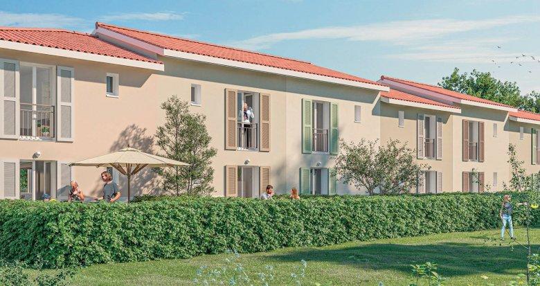 Achat / Vente programme immobilier neuf Toulouse Nord proche métro B (31000) - Réf. 6156