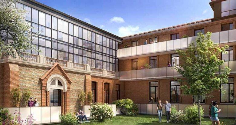 Achat / Vente programme immobilier neuf Toulouse proche centre-ville (31000) - Réf. 3131