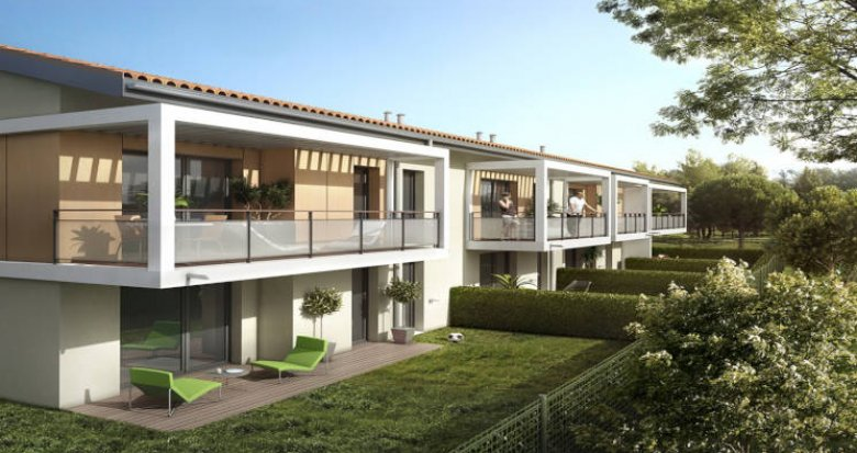 Achat / Vente programme immobilier neuf Toulouse proche de La Ramée (31000) - Réf. 5697