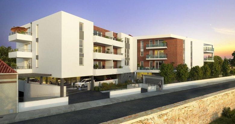 Achat / Vente programme immobilier neuf Toulouse proche Jardin Niel (31000) - Réf. 3213