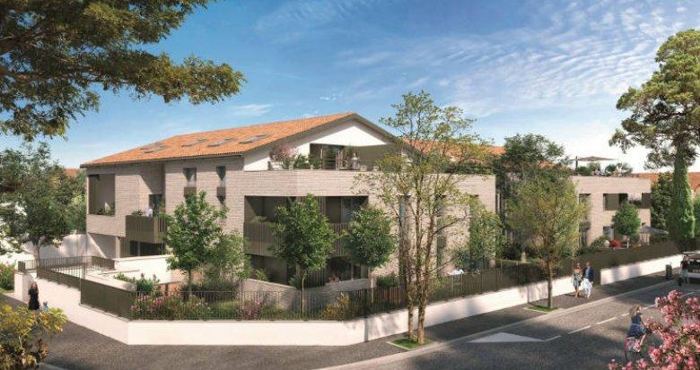 Achat / Vente programme immobilier neuf Toulouse proche Jardin Public Des Roseaux (31000) - Réf. 5802