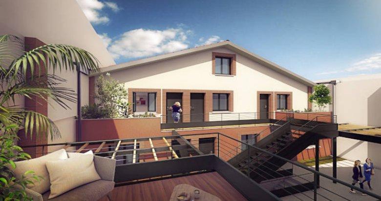 Achat / Vente programme immobilier neuf Toulouse proche Jeanne d'Arc (31000) - Réf. 5818