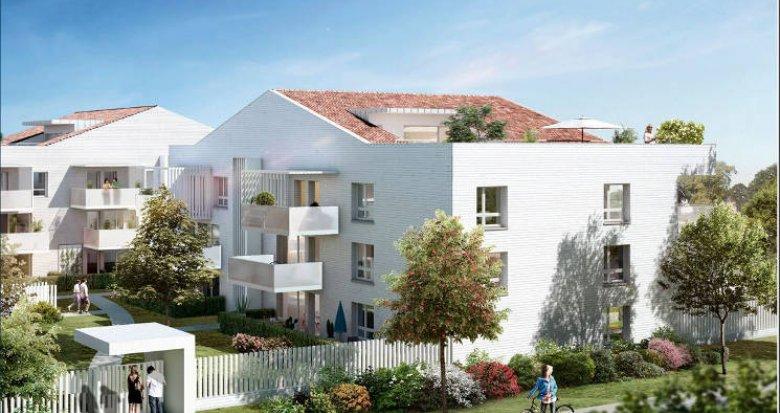 Achat / Vente programme immobilier neuf Toulouse proche mairie de quartier (31000) - Réf. 3319