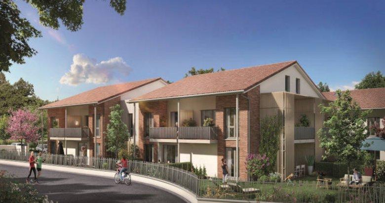 Achat / Vente programme immobilier neuf Toulouse proche Oncopole (31000) - Réf. 5955