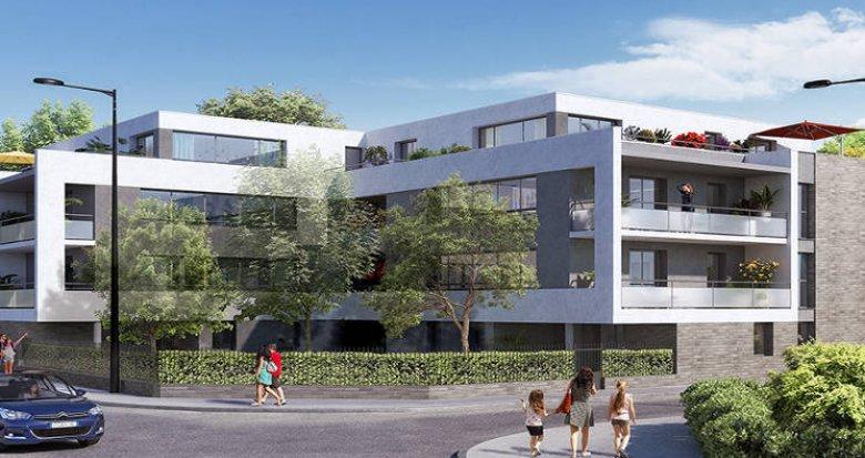 Achat / Vente programme immobilier neuf Toulouse proche Parc de la Maourine (31000) - Réf. 3142