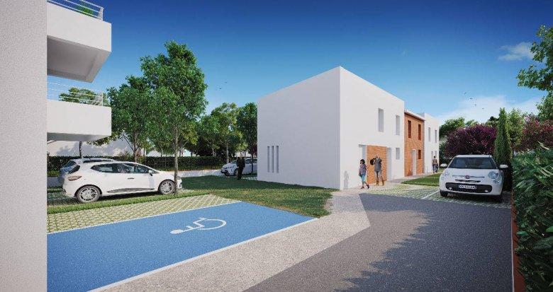 Achat / Vente programme immobilier neuf Toulouse proche Parc de la Maourine (31000) - Réf. 6242