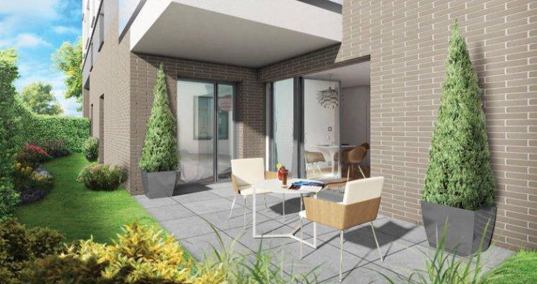 Achat / Vente programme immobilier neuf Toulouse proche Parc de Montaudran (31000) - Réf. 3159