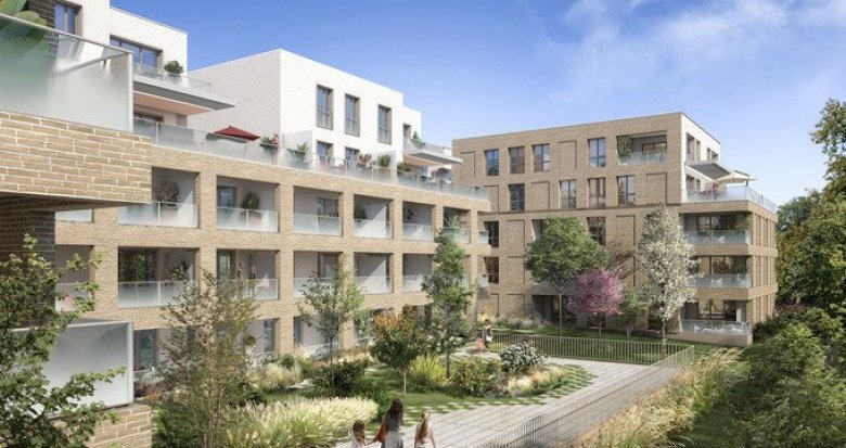 Achat / Vente programme immobilier neuf Toulouse proche transports à 10 min du centre (31000) - Réf. 5589