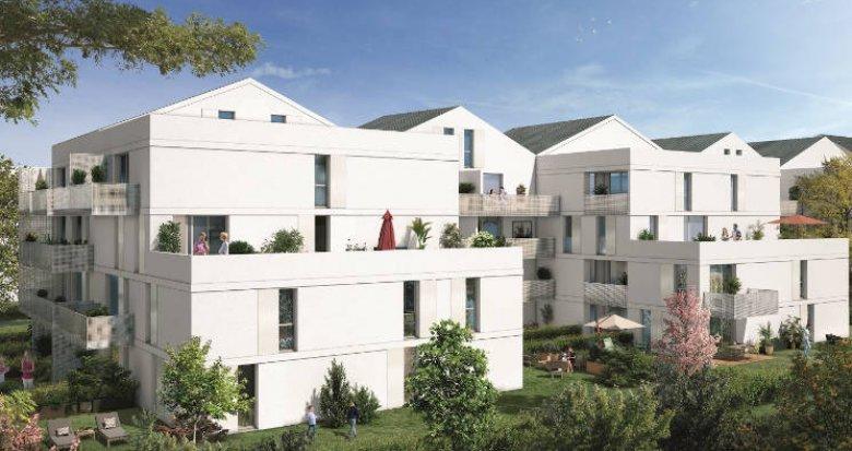 Achat / Vente programme immobilier neuf Toulouse quartier Barrière de Paris proche transports (31000) - Réf. 3653