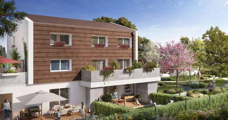 Achat / Vente programme immobilier neuf Toulouse quartier Bonnefoy (31000) - Réf. 4655