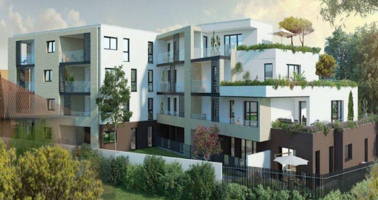 Achat / Vente programme immobilier neuf Toulouse quartier calme Les Argoulets (31000) - Réf. 4409